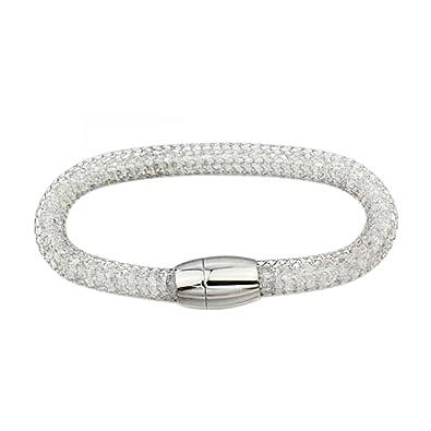les clients d'abord prix favorable section spéciale Bracelet Femme Bijou Fantaisie couleur argent at942: Amazon ...