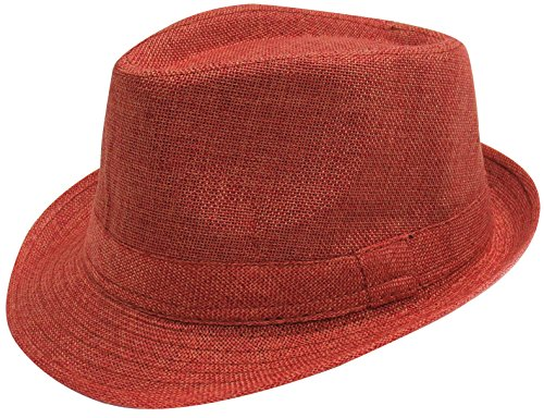 Simplicity Womens Colorful Trilby Fedora