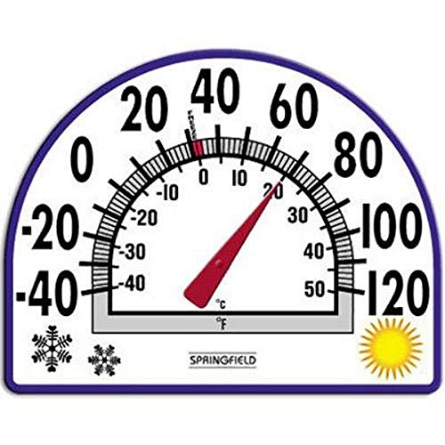 Springfield Static Cling Thermometer