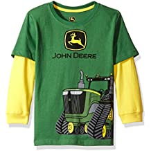 John Deere Little Boys' Long Sleeve Poly Tee
