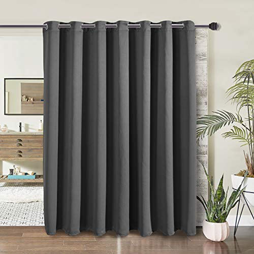 WONTEX Room Divider Blackout Curtains for Bedroom and Living Room, 1 Panel