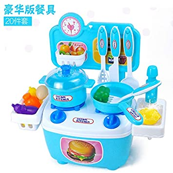 Kids Play House Pretend Play Toys Tableware Sets Plate Knife And Fork Baby Cooking Simulation Model Kitchen Toys Kitchen Toys Pretend Play