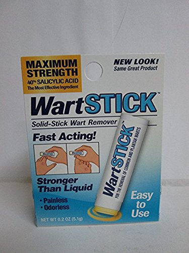 Wart Stick for The Removal of Common and Plantar Warts, 3 Count by Wart Stick