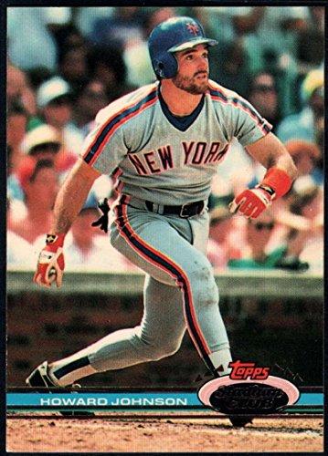 Baseball MLB 1991 Stadium Club #86 Howard Johnson #86 NM Near Mint Mets