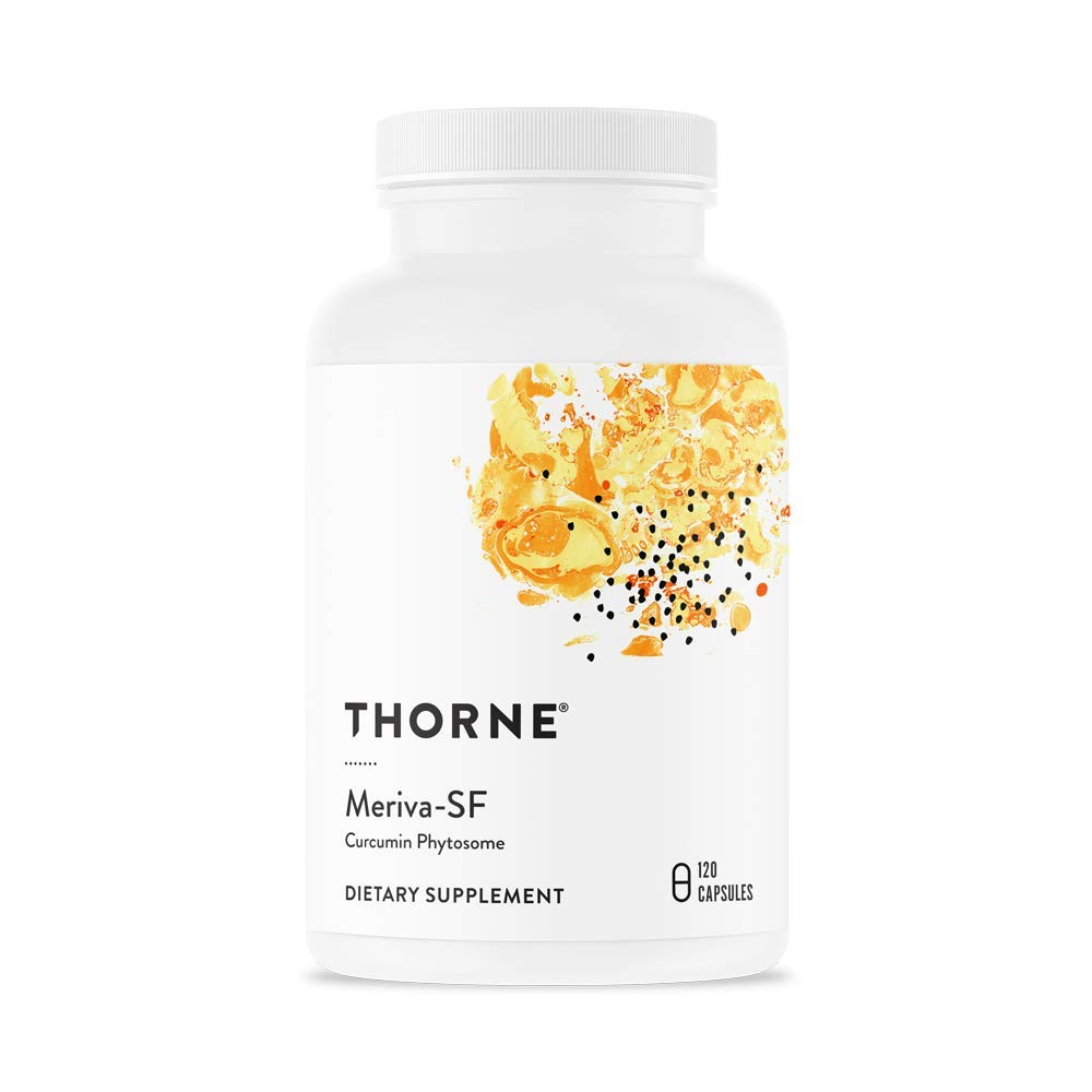 Thorne Research - Meriva SF (Soy Free) - Sustained-Released Curcumin Phytosome Supplement - 120 Capsules by Thorne Research