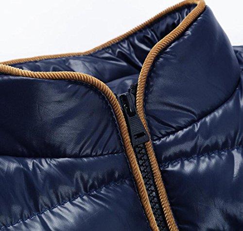 Collare Xs Lusso Blu Piumino Maschile Cappotto Inverno Stare Moda Eku wwvTXqPUR
