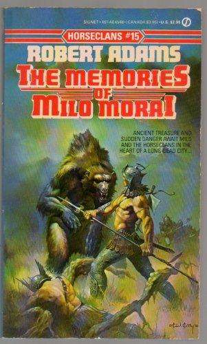 book cover of The Memories of Milo Morai
