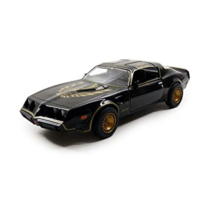 Greenlight 84031 1980 Pontiac Trans Am Smokey and The Bandit 2 Movie Car 1/24 Diecast Model Car: Toys & Games