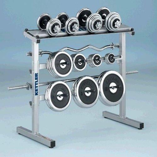 Accesorio de almacenamiento de pesas de gimnasio, soporte para mancuernas para uso intenso: Amazon.es: Deportes y aire libre