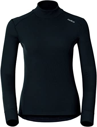 Odlo L/S Turtle Neck Active Originals Warm, Camiseta Térmica para Mujer: Amazon.es: Ropa y accesorios