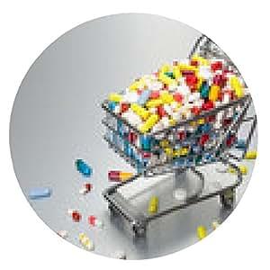 alfombrilla de ratón El precio de los medicamentos - ronda - 20cm