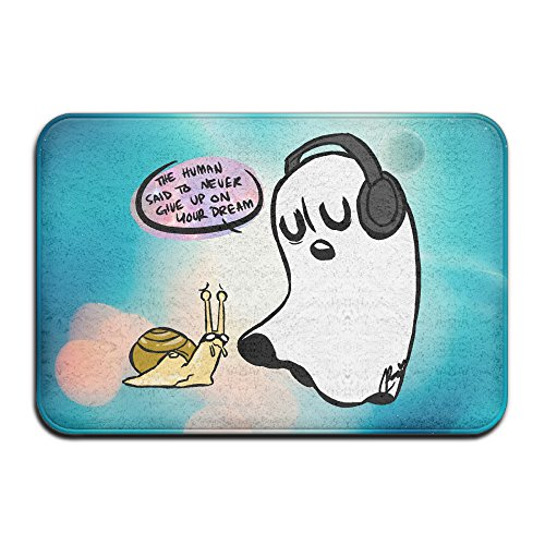 [Caromn Rectangle Undertale Ghost Area Rugs Pad For Children Play Home Decorator Bedroom Living Room] (Blue Ghost Pill Costume)
