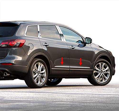 Tyger Auto Made in USA! Works with 2007-2015 Mazda CX-9 Lower Accent 1'' Wide 4PC Rocker Panel Trim -  RP-MA038