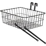 Wald 139 Front Bicycle Basket, 18 x 13 x 6, Black