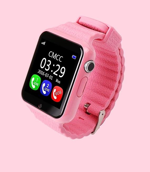 DKHSKITFJRLO Reloj Deportivo GPS Smart Watch V7K Kid Impermeable ...