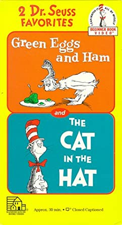 b64f55e7a53df Dr. Seuss - Green Eggs & Ham / the Cat in the Hat [Import]: Video ...