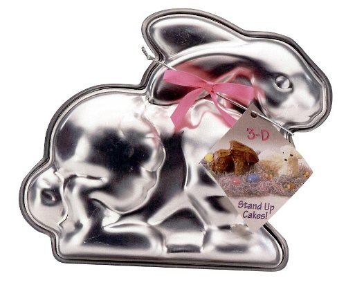 Nordic Ware Easter Bunny 3-D Cake Mold]()