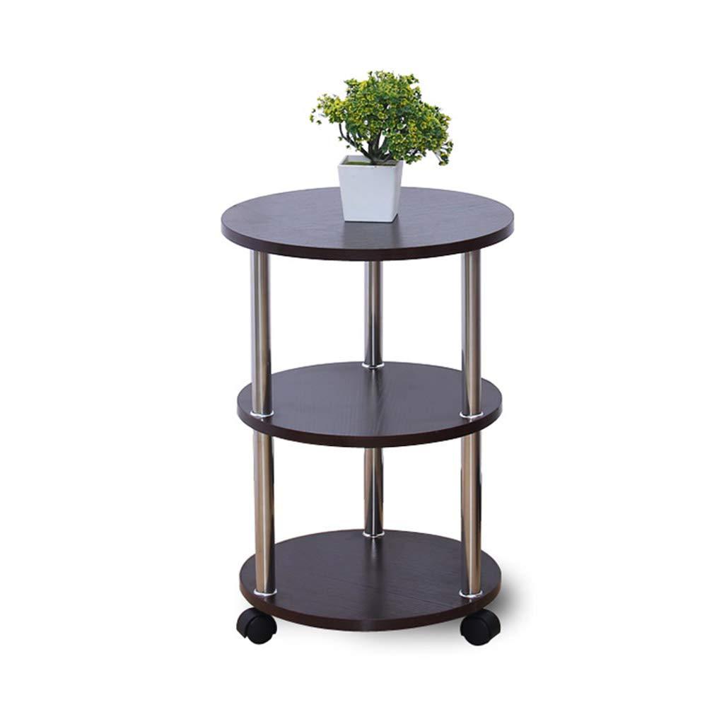 End table.Cb C-Bin1 Tavolo Mobile, Tavolo da Pranzo Multifunzionale in Legno per Soggiorno Comfort (Colore : A) ChenBin