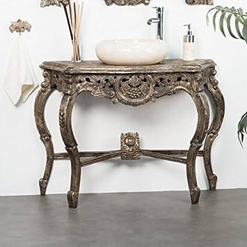 Wanda Collection Meuble Salle De Bain Patine Bronze Baroque