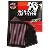 K&N 33-2402 High Performance Replacement Air Filter
