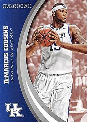 DeMarcus Cousins basketball card (Kentucky Wildcats) 2016 Panini Team Collection #39