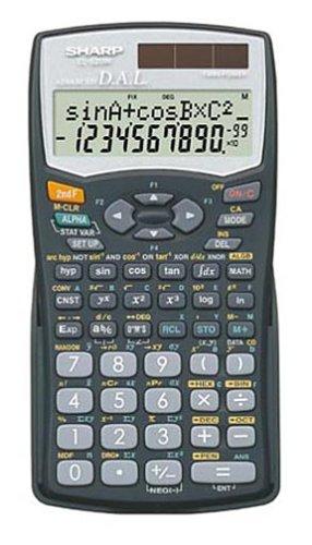 Sharp EL-506WBBK Scientific Calculator