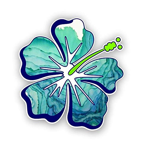 Hibiscus Flower sticker / decal **Free Shipping** ()