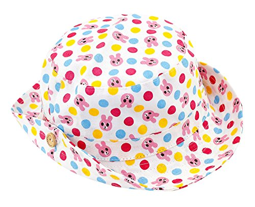 Baby Girls Breathable Bucket Sun Protection Cap Soft for sale  Delivered anywhere in Canada