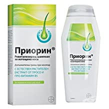 PRIORIN® SHAMPOO 200ml HAIR LOSS ALOPECIA PATTERN BALDNESS HAIR REGROWTH