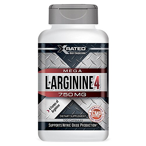 Xrated Body Engineering Mega L-Arginine 4, 750 mg (100 (L-arginine Ethyl Ester)