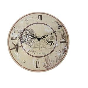 51M86Tmm9GL._SS300_ Coastal Wall Clocks & Beach Wall Clocks