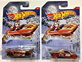 Hot Wheels 2016 Christmas Holiday Hot Rods & New Years Complete Set Diecast Cars