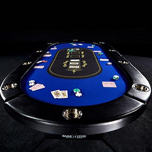 Beau Barrington Texas Holdem Poker Table For 10 Players ...