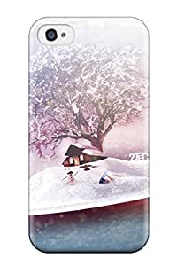 CaseyKBrown Iphone 4/4s Well-designed Hard Case Cover December Frost Protector