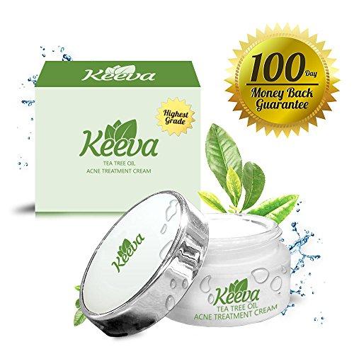 Keeva Tea Tree huile crème de traitement de l'acné, 30gm