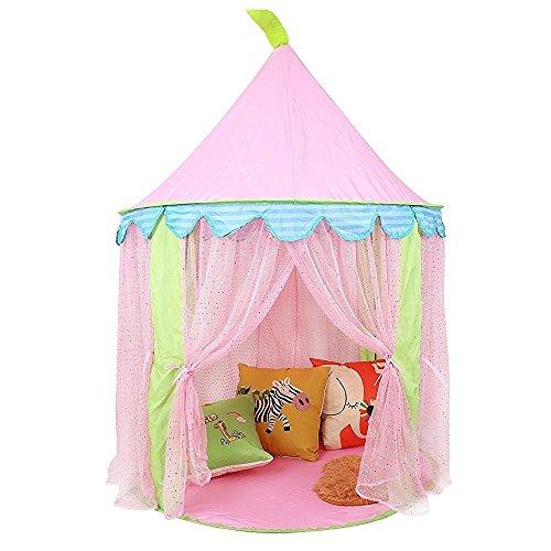 Kinder Spielzelt Pinzessin Haus für Mädchen