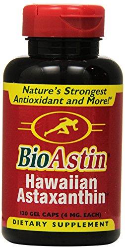 Nutrex, BioAstin, natürliches Astaxanthin, 4 mg, 120 Gel Caps