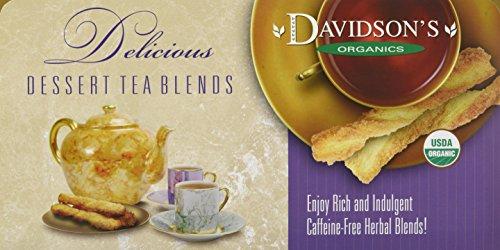 Davidson's Tea Single Serve Tangerine Almond, 100-Count Tea Bags