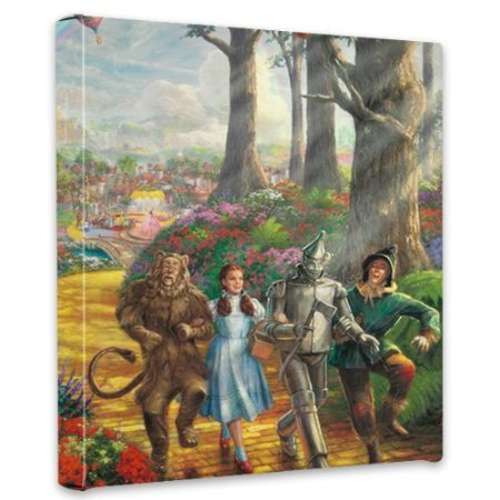 Thomas Kinkade Follow the Yellow Brick Road Gallery Wrap Canvas