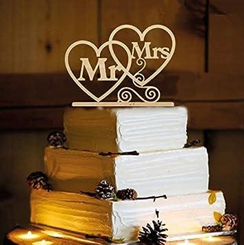 Herr Und Frau Cake Topper Holz Hochzeitstorte Topper Lustige Braut