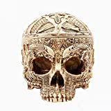 BERTERI Decoration Fashion Personality Skull Home Supplies Resin Big Ashtray Ashtray for Car Billiard Soccer Ball Car Ashtray