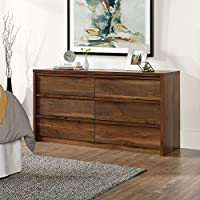 Sauder Harvey Park Dresser in Grand Walnut