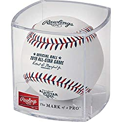 This is the same game ball used in the 2019 All Star game in Cleveland OH. This baseball bears the commemorative 2019 All Star logo. Comes in a Rawlings factory display case.