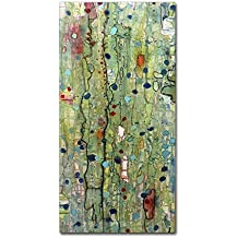 """In Vitro by Sylvie Demers Wall Hanging, 10"""" x 19"""" Canvas Wall Art"""