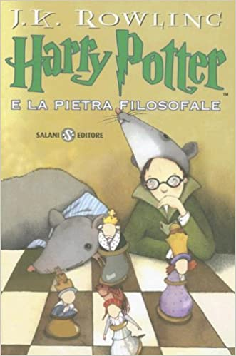 harry potter audio books italian