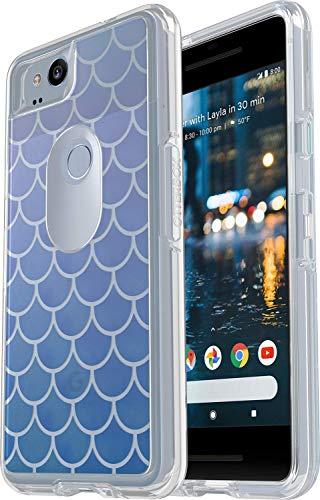 OtterBox Symmetry Series Slim Case for Google Pixel 2 (NOT XL) Non-Retail Packaging - Mermaid Tail - Beveled Door 2