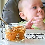 Sage Spoonfuls Make in Bulk Glass Baby Food Storage