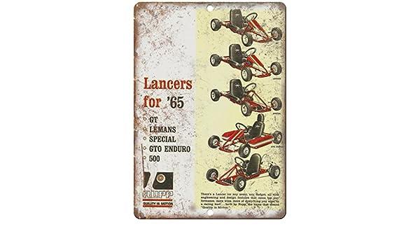 Amazon com: 1965 Lancers RUPP Go Kart Vintage Ad 10