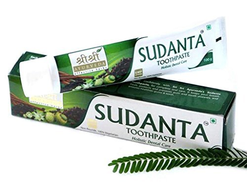 SRI SRI AYURVEDA Sudanta Toothpaste 100 Gm Healthy And Strong Your Teeth