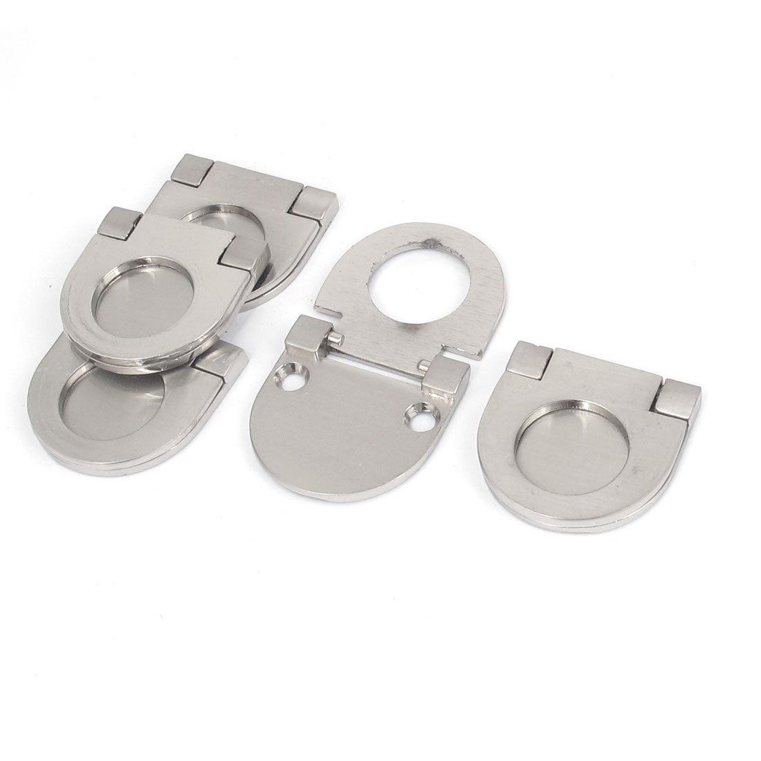 Sourcingmap/® maniglia maniglia ad anello per cassetto armadio pomello tonalit/à argento pezzi